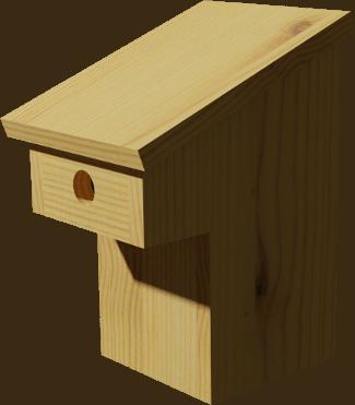 nichoirs pour oiseaux en bois. Black Bedroom Furniture Sets. Home Design Ideas