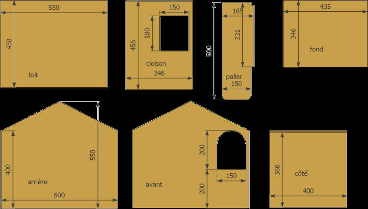 nichoirs pour canards. Black Bedroom Furniture Sets. Home Design Ideas