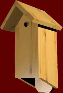 nichoir pour oiseaux Bal2-2