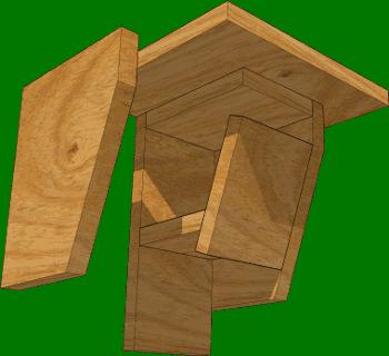 nichoir pour oiseaux Trogo-1