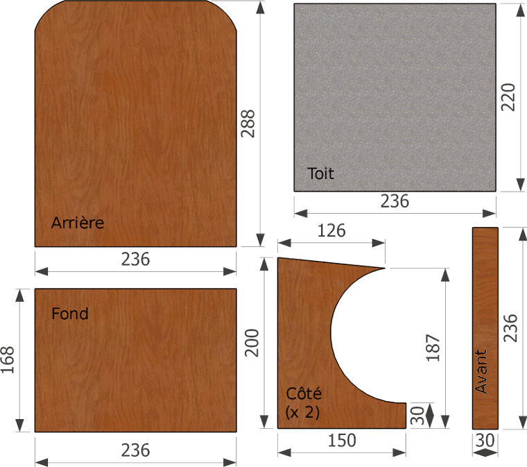 Bien connu Plans de nichoirs spécifiques YN25