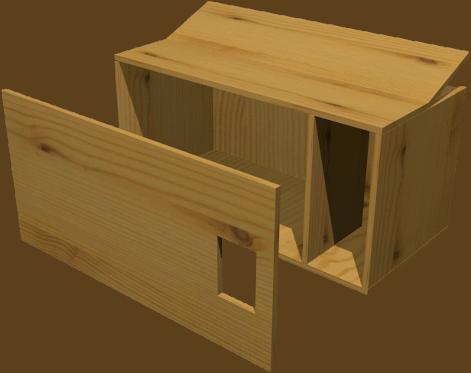 nichoirs pour rapaces nocturnes. Black Bedroom Furniture Sets. Home Design Ideas