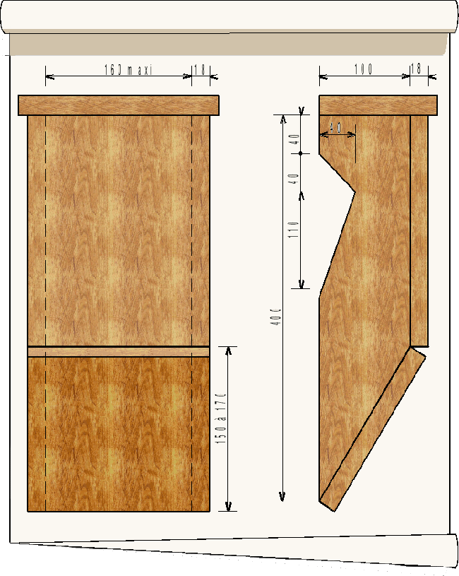 plan de nichoir à grimpereau