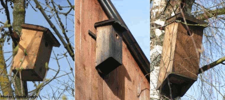 nichoir pour oiseaux 3bal