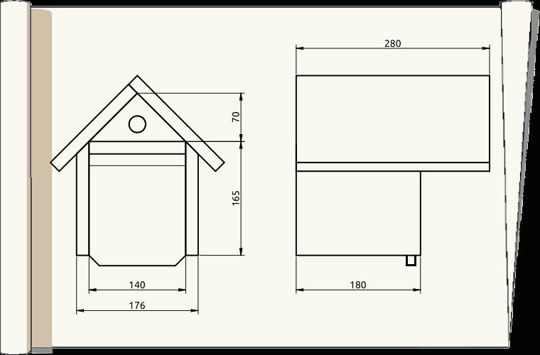 plans de nichoirs multi sp cifiques 2. Black Bedroom Furniture Sets. Home Design Ideas