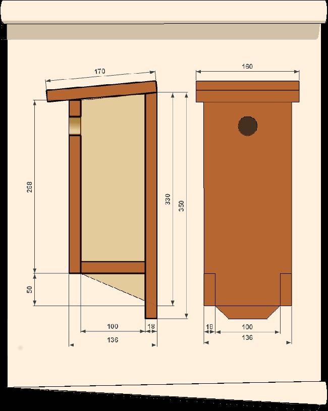 nichoir pour oiseaux Plbal2
