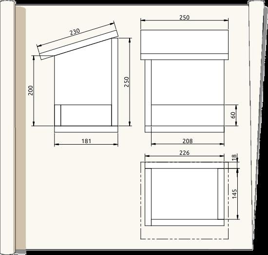 Extrêmement Plans de nichoirs spécifiques QS63