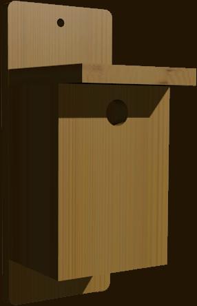 nichoir pour oiseaux Troglo